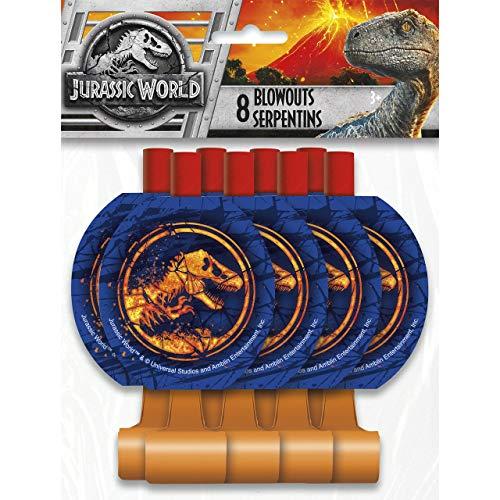 Unique Jurassic World Party Blowouts [8 per Package]