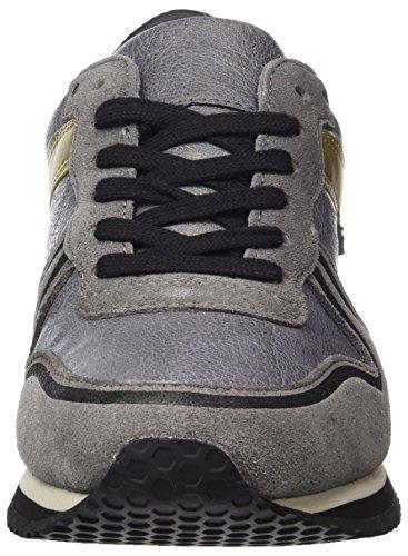 Tommy Jeans Damen L1385agoon 1c2 Sneaker Grau (Steel Grey)