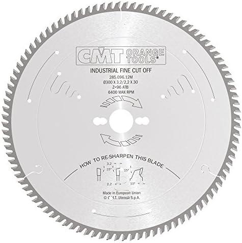 CMT 285.096.12M 285.096.12M 285.096.12M Lama Circolare per Taglio di Precisione (Serie Industriale), Metallo Grigio | Dall'ultimo modello  | Intelligente e pratico  | Delicato  527191