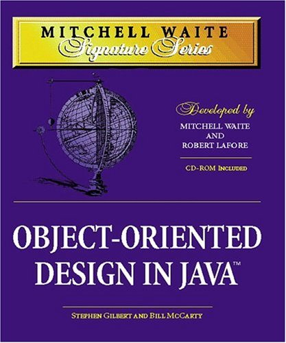 Object-Oriented Design in Java (MCP-Imprint Waite Group Press)