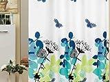 EDLER Textil Duschvorhang 180 x 200 cm Elegante Natur