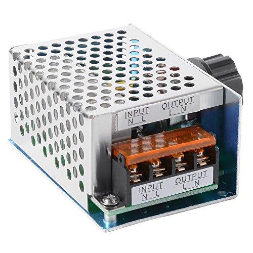 4000W AC 220V Hohe Leistung SCR Elektronische Spannungsregler Governor Dimmer Thermostat Drehzahlregler -