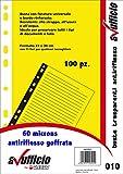 Buste Portadocumenti a Perforazione Universale A4 Goffrata,... Acco Hetzel