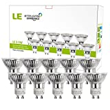 LE 10 Pack GU10 LED Light Bulbs, 50W Halogen Bulbs Equivalent, MR16 3.5W, 350lm, Warm White, 3000K, 120° Beam Angle, Recessed Lighting, Track Lighting Bild 1