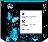 HP CB346A - Cartucho de tinta, 130 ml (pack de 2) Magenta claro