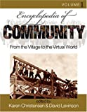 Best SAGE Publications Inc Dictionnaires - Encyclopedia of Community: From the Village to the Review