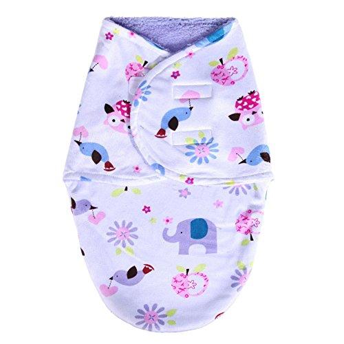 domybest 0–6meses bebé recién nacido saco de dormir Sleepsack doble capa short...