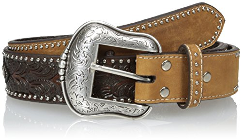 Nocona Men's Star Concho Overlay, Brown, 46 - Nocona Concho