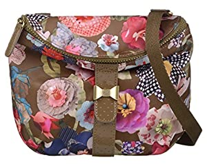 Oilily Paper Flowers S Shoulder Bag Moss