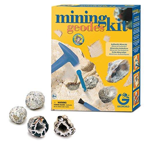 Geoworld-ed232K-Spiel Wissenschaftliche-Ausgrabung Kit géodes authentischen