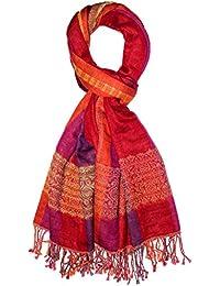 Lorenzo Cana Pashmina de 90% Cotton et 10% Laine pour l`homme – écharpe  avec de laine merino - 70 cm x 180… 710210db12b