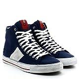 D.A.T.E. Homme Sneakers, E14O-TH-CNBL, TENDER HIGH CANVAS, Bleu, 45