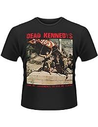 Plastic Head Men's Dead Kennedys Convenience Or Death Crew Neck Short Sleeve T-Shirt