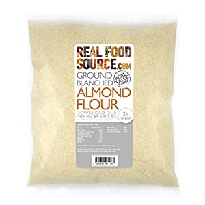 RealFoodSource Blanched Ground Almond Flour (1kg)
