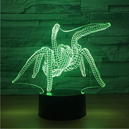 ryl Kreative USB Nachttischlampe 3D Touch Control Licht ()