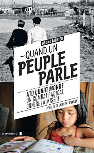 Quand un peuple parle (Cahiers libres) par Bruno TARDIEU