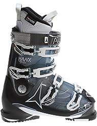 Atomic Hawx 2.0 90 Ski Boots Transparent Light Blue/Black Womens Sz 8.5 (25.5) by Atomic