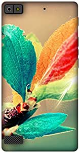 The Racoon Grip blooming branch hard plastic printed back case / cover for Blackberry Z3