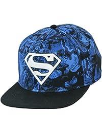 DC Comics Superman All Over Print Snapback Casquette De Baseball