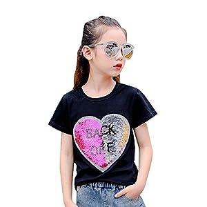 Desigual Corazón Lentejuela Reversibles Camiseta