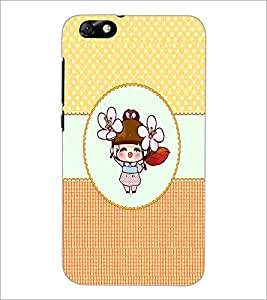 PrintDhaba Cartoon D-4467 Back Case Cover for HUAWEI HONOR 4X (Multi-Coloured)