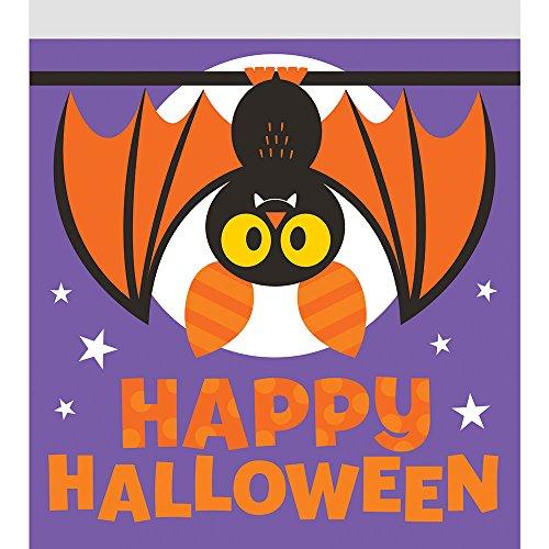 120-count Reißverschluss Sandwich Tasche, Halloween Fledermaus (Halloween-süßigkeiten Für Klassenzimmer)