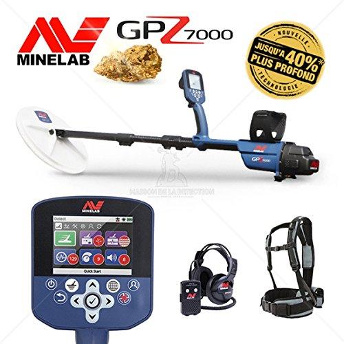 Metalldetektor Minelab GPZ 7000