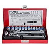 Taparia S1/4H 1/4-Inch Square Drive Socket Set