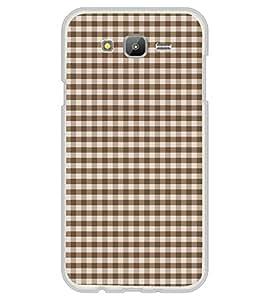 Fuson Brown Checks Designer Back Case Cover for Samsung Galaxy A5 (2015) :: Samsung Galaxy A5 Duos (2015) :: Samsung Galaxy A5 A500F A500Fu A500M A500Y A500Yz A500F1/A500K/A500S A500Fq A500F/Ds A500G/Ds A500H/Ds A500M/Ds A5000 (Brownish Checks Pattern)