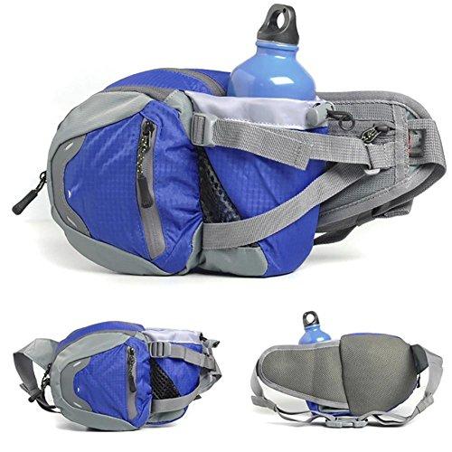 MIAO Outdoor Wasserkocher, purse, multifunktionale Sports Bag, wasserdicht Oxford Tuch, Tasche, Tragetasche blue