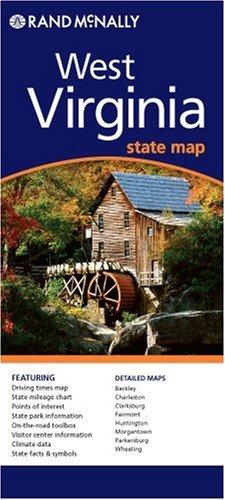 West Virginia (Rand McNally Folded Map: States)