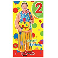 Something Special Mr Tumble - Age 2 Birthday Card - 2nd