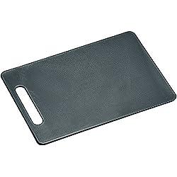 Kesper 30474tabla de cortar antideslizante plástico gris 29x 19,5x 0,5cm