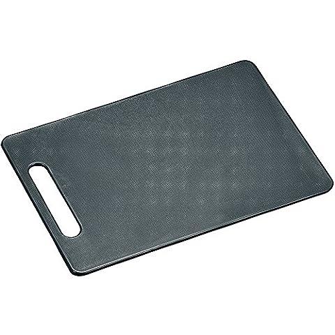 Kesper 30474 Planche à Découper Antidérapante Plastique Gris 29 x 19,5 x 0,5 cm