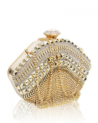 Craze london, Poschette giorno donna Gold