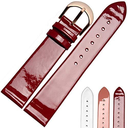 Dünnes Armband aus echtem Leder Henziy-Uhrenarmbänder-Band11639 Helles armbänder für Uhren Lederarmband 14mm 16mm 18mm 20mm Uhrenarmband ArmbanduhrenGürtelriemen