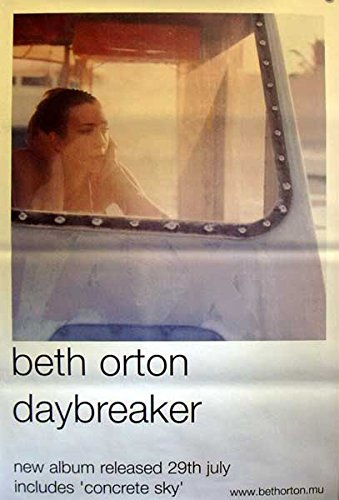 Beth Orton: Daybreaker | original UK Promo Poster Übergrösse XL