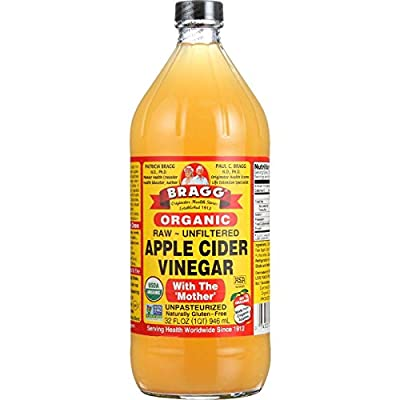 Braggs Vinegar Apple Cider, Organic, 32 oz.