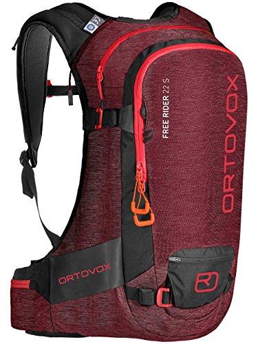 Ortovox Free Rider 22 S Rucksack, Dark Blood Blend, 30 x 52 x 15 cm, 22 Liter