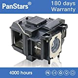 PanPacSight Lampada per Proiettore ELPLP67 Compatibile con Epson EB-X02 S02 W02 W12 X12 S12 X11 X14 W16 X14G S11 S11H SXW11, EX3210 EX5210 EX7210 H428A H428B H428C H429A H429B H429C Videoproiettore