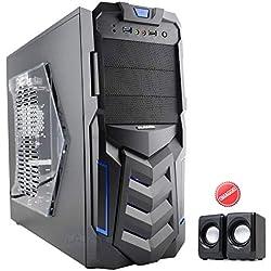 EXTREME PC GAMING DESKTOP COMPUTER FISSO ASSEMBLATO COMPLETO PROCESSORE INTEL I7 7700 3.6GHZ / RAM 16GB DDR4 / SSD 240GB / HD 1TB / MASTERIZZATORE DVD / GTX 1050 2GB GDDR5 / USB 3.0 / INSTALLAZIONE SISTEMA OPERATIVO / PROGRAMMI & SOFTWARE AGGIUNTIVI