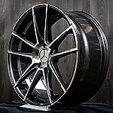 19 Zoll Alufelge Motec MCT10 Radical für Mercedes-Benz A B C E CLS SL Klasse W204 W205 W212 AMG, Fahrzeug Mercedes:E-Klasse W207