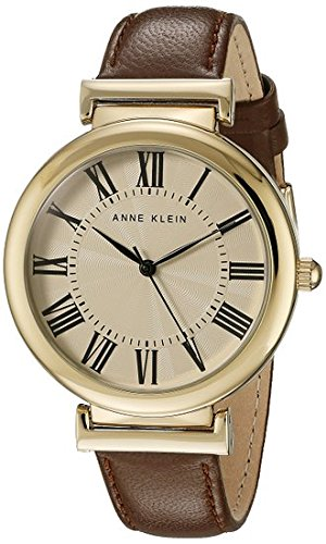 anne-klein-womens-harley-quartz-watch-with-white-dial-analogue-display-and-brown-leather-strap-ak-n2
