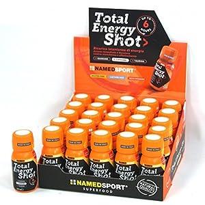51SEmgWT1vL. SS300 NAMED SPORT Total Energy Shot - A BASE DI CAFFEINA - Box 25 Flacconcini
