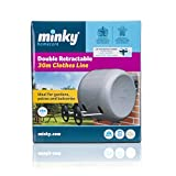 from Minky Minky Retractable Reel Washing Line, 30m of drying space Model VT21200105