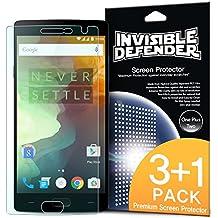 Protector de pantalla OnePlus 2 - Defender Invisible [3 + 1 Pack / MAX HD CLARIDAD] Garantía de por vida Perfecto Toque de precisión de alta definición (HD) Claridad de Protector (4pack) para OnePlus 2 / OnePlus Two