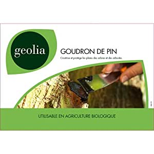 Goudron de pin geolia