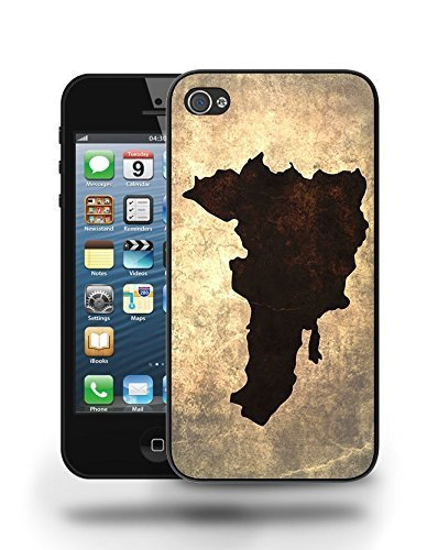 Dominican Republic National Vintage Country Landscape Atlas Map Phone Case Cover Designs for iPhone 5
