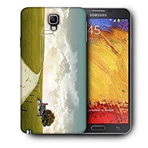Snoogg Pathway Road Printed Protective Phone Back Case Cover For Samsung Galaxy NOTE 3 NEO / Note III
