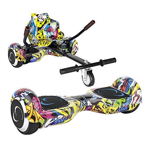 Pack SmartGyro X2 UL M?s Go Kart Street - Patinete El?ctrico + Kart (Ruedas de 6.5